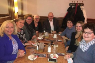 Bürgermeisterkandidat Frank Prüße trifft CDU-Frauen